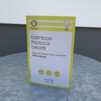 kaia bamboo tapioca beads front