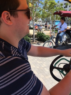 jay driving bike