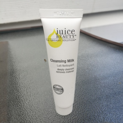 juice beauty cleansing milk tipsypinup