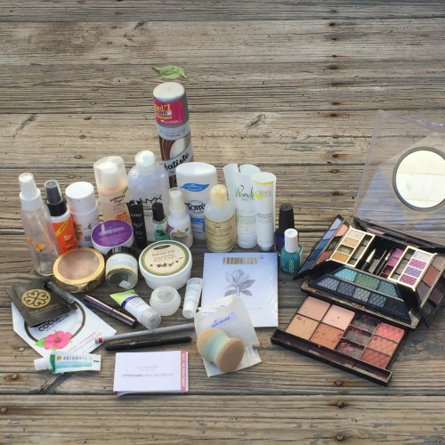 october 2016 empties and purges